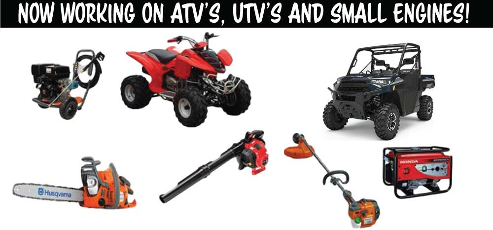Small Engine Repair Atv Repair Gas Equipment Repair